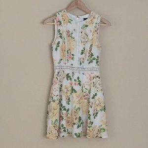 Disney Princess A-Line floral dress, size XS